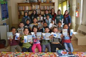 Escola Iva Chiapetta Cardoso recebeu o Projeto Crescendo com Amor e Saúde