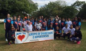 III Caminhada do grupo de Hipertensos e Diabéticos do ESF 2