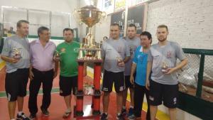 Corinthians Zanini de Santa Maria é Campeão do 27º Puro Sangue de Bocha realizado em Tupanciretã.