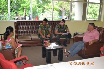 Militares de Santa Maria vem a Tupanciretã em combate ao Aedes Aegypti
