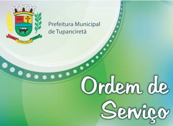 Ordem de Serviço 038/2016