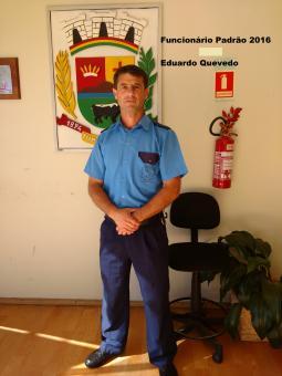 Eduardo Quevedo François é o Servidor Padrão 2016