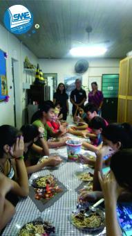 A SME vem realizando visitas nas escolas municipais