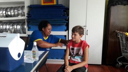 Campanha contra o HPV e Meningocócica C