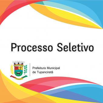 PROCESSO SELETIVO - Operador de Máquina