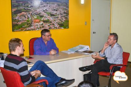 Reunião com SEBRAE sobre parceria
