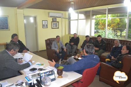 Reunião é feita para agilizar a recuperação das estradas do interior