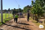 Quartas-feiras são de atividade física para moradores do Bairro Cel. Marcial Terra