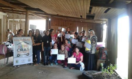 Equipe do CRAS Volante encerra atividades no Nova Aliança
