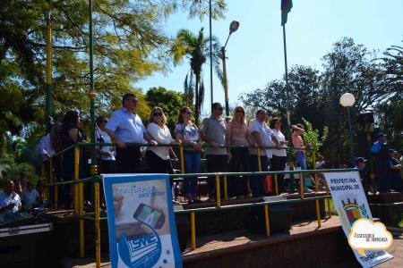 Desfile Cívico encerra comemorações da Semana da Pátria