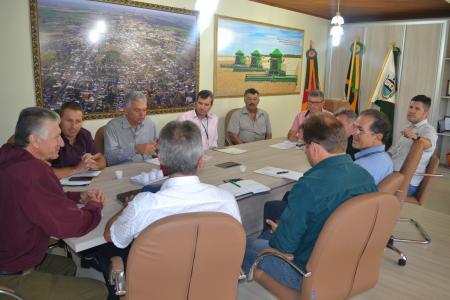 Patrulha Mecanizada foi tema de Reunião com Prefeitos e secretários de agricultura da região