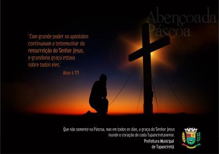 Feliz e Abençoada Páscoa
