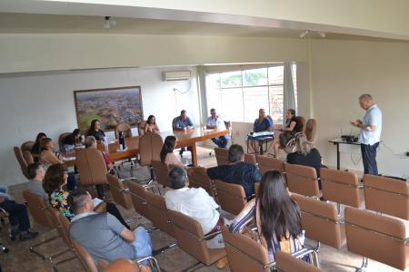 Reunião do Comitê Estratégico de Acompanhamento do COVID-19