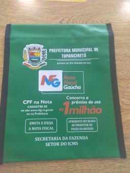 Pastas de Bloco de Produtor com personalização da NFG