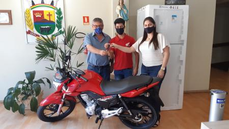 Moto do IPTU Premiada
