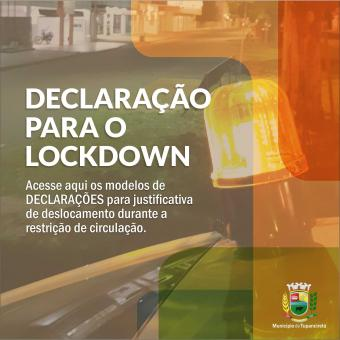 Empresas e Trabalhadores independentes deverão portar declaração durante Lockdown