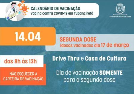 💉Recebeu a vacina em 17 de março?