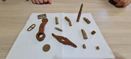Artefatos extraídos da área do Complexo Tupanciretã são doados ao Município