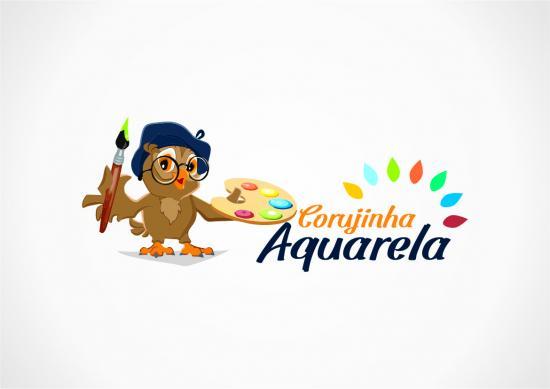 Logotipo do projeto: Centro Socioassistencial Corujinha Aquarela